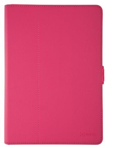 Speck FitFolio Tablet Case Cover Schutzhülle mit eingebautem Stand für Samsung Galaxy Tab 2 10.1 Zoll - Himbeere