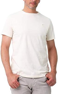 Scalpers Camiseta Garment Dye ALGODÓN Calavera - Off White/M