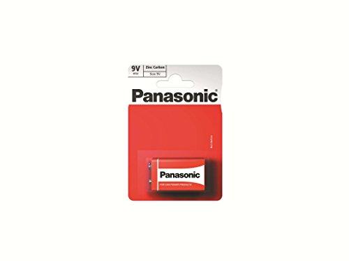 Panasonic Zink Carbon Batterie 9V (1) der Karte (596531)