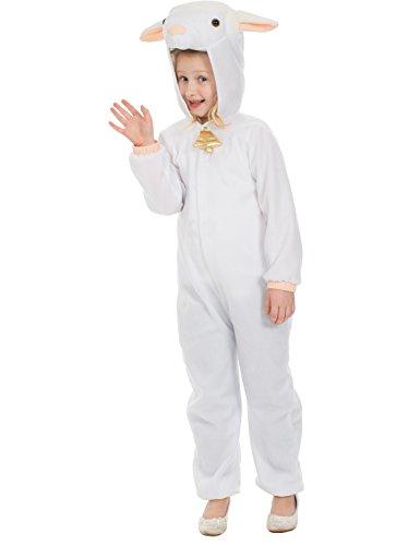 Schafe Weihnachtskrippe Tier Kostüm Verkleidung Large (Farm Tier Kostüme Kinder)