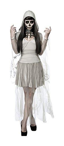 Skeleton Ghost Komplettset von Mask Paradise XS-M