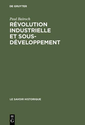 Rvolution Industrielle Et Sous-dveloppement