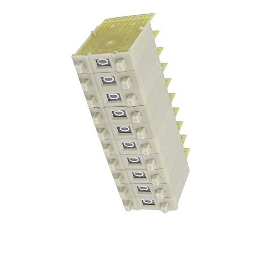 Aexit 10 Unids KM3 0-9 Interruptores Volante Codificados