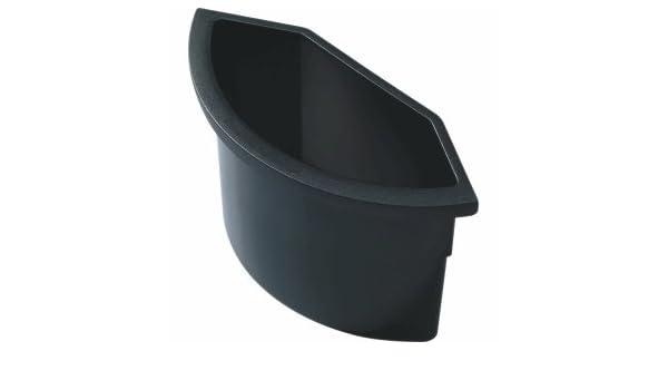 Helit Abfalleinsatz f/ür Sicherheits-Papierkorb 2l schwarz schwer entflammbar