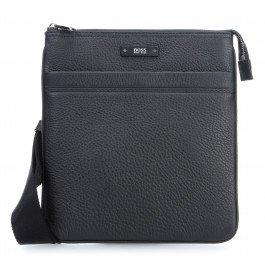 BOSS Hugo Boss Leder-Traveler_S-Zip-Beutel One Size Schwarz