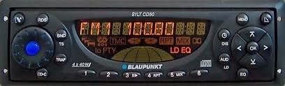 blaupunkt-sylt-cd50-autoradio-bedienteil