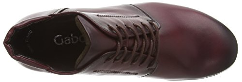 Gabor - Mega, Stivaletti Donna Rosso (Red (Wine Leather))