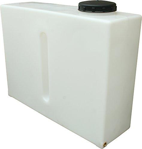 Depósito de agua de contención inoxidable, 280 litros, vertical, de la marca Ecosure