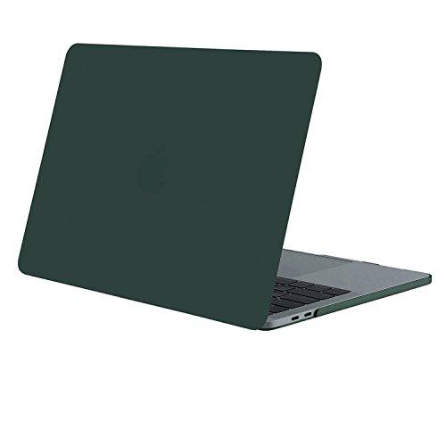 MOSISO MacBook Pro 13 Hülle 2018&2017&2016 Freisetzung A1989/A1706/A1708 - Ultra Slim Hochwertige Plastik Hartschale Hülle MacBook Pro 13 Zoll mit/ohne Touch Bar und Touch ID, Pfau Grün