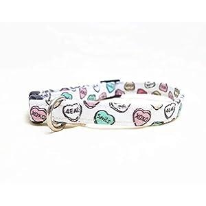 Katzenhalsband – Candy Hearts