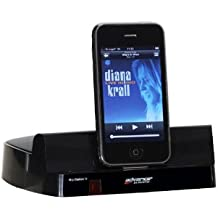 Advance Acoustic Mip Station III Dockstation per iPod, iPhone e iPad, Nero