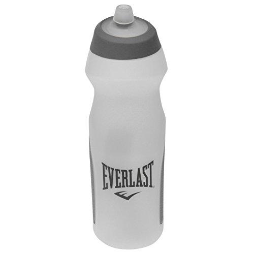 Everlast Unisex Duo Trinkflasche Sport Fitness 700ml Durchsichtig/Grau Einheitsgröße
