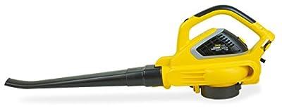 Garland Gas 159E Elektro Laubbläser/Staubsauger, 2.600W-270km/h-Elektronische Kontrolle der Geschwindigkeit der Luft