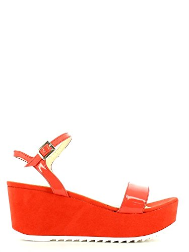 Grace shoes 7577 Sandalo zeppa Donna Rosso 36