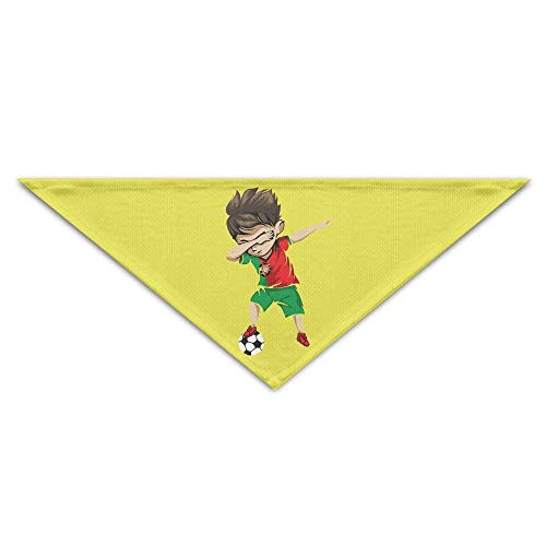 Wfispiy Lovely Portugal Boy World Cup-01Dog Birthday Pet Bandana Collars for Dogs and (Children's Christmas Star Kostüm)