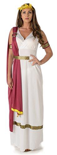 (Kaiserliche Römische Kaiserin Damen Altes Griechisches Frauen Erwachsen Kostüm (Large European 46 - 48 (UK18 - 20)))