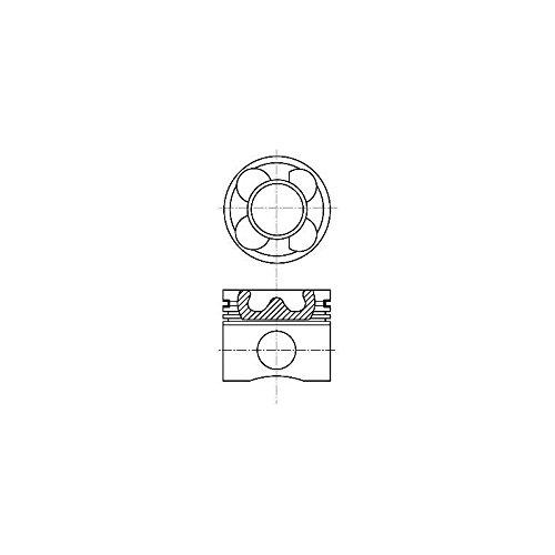 Nüral 87-114405-60 Kolben