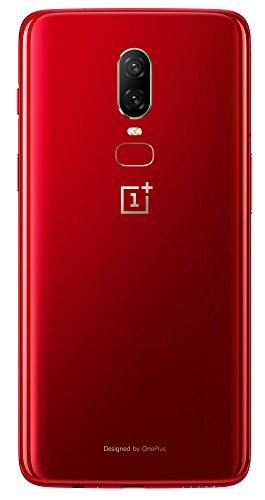 OnePlus 6 (Red, 8GB RAM + 128GB Memory)