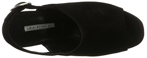 Lea Foscati Andalusia, Sandales  Bout ouvert femme Schwarz (Nero)