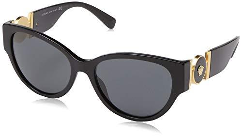 Ray-Ban Damen 0VE4368 Sonnenbrille, Weiß (Black), 56.0