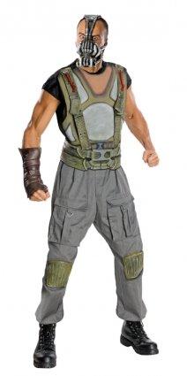 Bane Kostüm, Bane Herren Kostüm Dark Knight Rises-Bane Muscle Chest Badeanzug, Style 2 XL, Brustumfang: 44- 116.84 cm, Taille: 36 cm; Innennaht 101.60 83.82 (Bane Kostüm Uk)