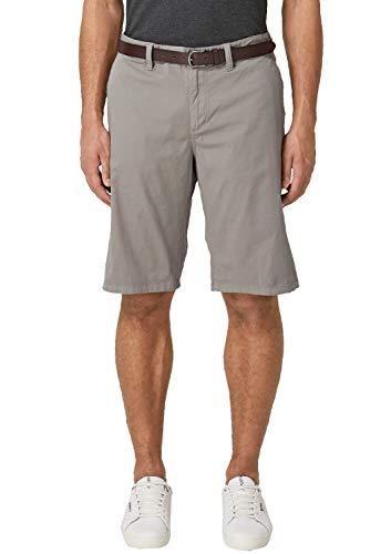 Plus Size Shorts (s.Oliver Big Size Herren 15.904.74.3701 Shorts, Grau (Steel 9405), W(Herstellergröße: 42))