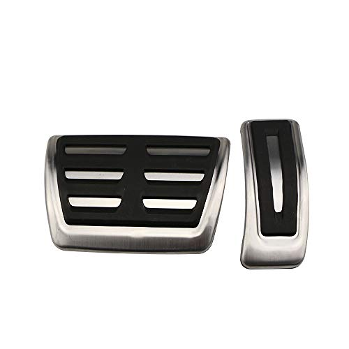 TAYDMEO Copri Pedali Freno Auto Benzina, per Audi A4 B8 S4 RS4 Avant 8K Allroad Q3 A5 S5 RS5 8T Q5 8R SQ5 A6 S6 A8 S8 A8L