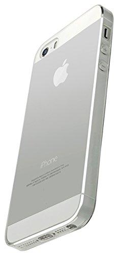 Coverbasics procam 0.33mm per apple iphone 5 5s se con bordo proteggi fotocamera e tappi antipolvere cover custodia morbida trasparente silicone gel gomma tpu sottile fina invisibile ultra thin slim