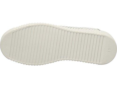 Marco Tozzi 2-2-73750-28-125, Scarpe stringate donna White Metallic Comb