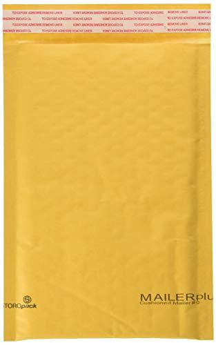 StarBoxes Luftpolsterversandtaschen, 15 x 25 cm, selbstklebend, 75 Stück (10x12 Poly Mailer)