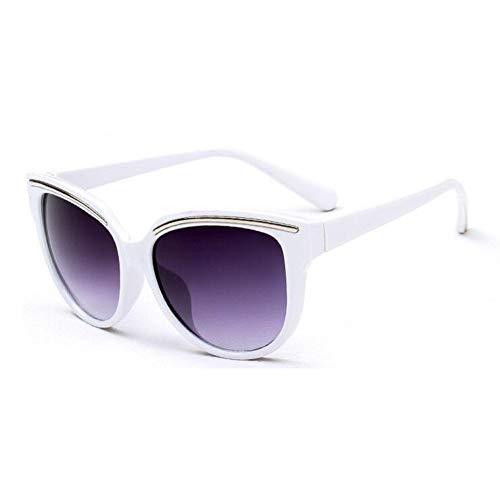 GJYANJING Sonnenbrille Weibliche Nette Cat Eye Sonnenbrille Frauen Beliebte Marke Designer Sonnenbrille Retro Brille Cat Eye Sonnenbrille Gradienten Brillen