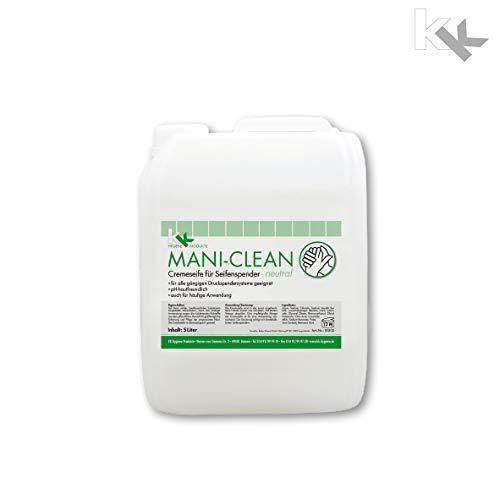 KK Mani-Clean Neutral | Cremeseife | 5 Liter Kanister