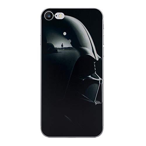 iPhone 7 Star Wars Silikonhülle / Gel Hülle für Apple iPhone 7 / Schirm-Schutz und Tuch / iCHOOSE / Darth Vader Seite