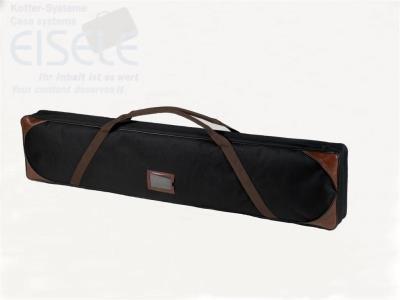"""Soft-Bag-Exclusive \""""SBE\"""" robuste Tasche für (EISELE) Waffenkoffer aus Cordura 1200, edler Look, mit Echtlederecken (1320 x 270 x 100 mm SBE-3)"""