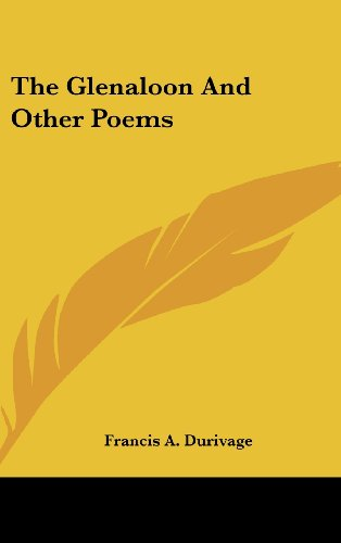 The Glenaloon and Other Poems