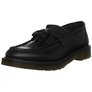 Dr. Martens Unisex Adults Adrian Slip-on Loafer, Black (Nero), 3 UK (36 EU)