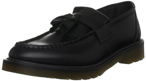 Dr Martens ADRIAN CORE, Loafer Unisex Adulto, Nero, 43