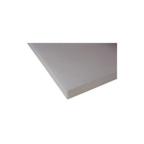 Ventadecolchones Plancha de Viscoelástica para Topper Sin Funda (90 x 190 cm - 5 cm de Visco)