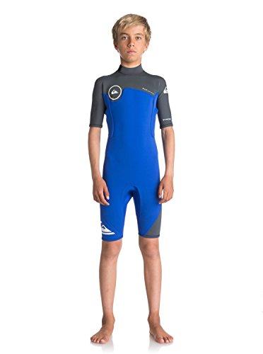 Quiksilver 2mm Syncro Series Back Zip - Short Sleeve Spring Suit - Jungen