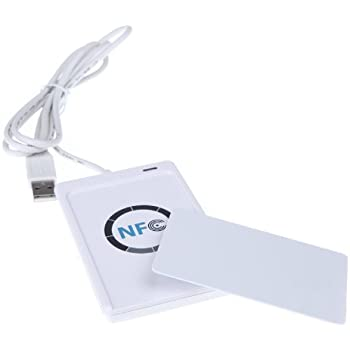 KKmoon ACR122U NFC RFID Sans Contact Smart Reader & Writer/USB + SDK + Carte à Puce