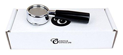 Bodenloser Siebträger für LA PAVONI 51 mm Handhebel Espressomaschinen Europiccola Professional Stradivari usw - 14 g Sieb - 2 Tassen