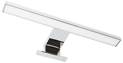LED Aluminium Spiegelleuchte
