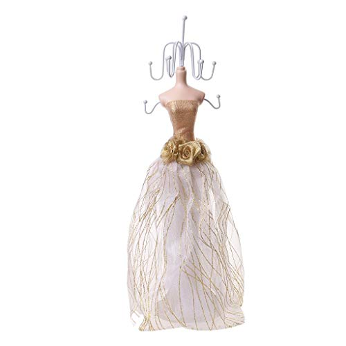 Tubayia Mannequin Jewellery Display Stand for Bracelets, Necklaces, Earrings