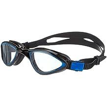 Aqua Speed - Gafas de natación para Hombre, Lentes tintadas Oscuros, Flexibles, monoblock