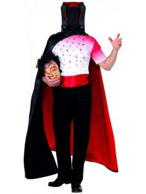 Kopfloser Mann Halloween Kostüm Karneval Toter Größe 48/50, 52/54 31921, Größe:L 52/54 (Kopfloser Mann Halloween-kostüme)