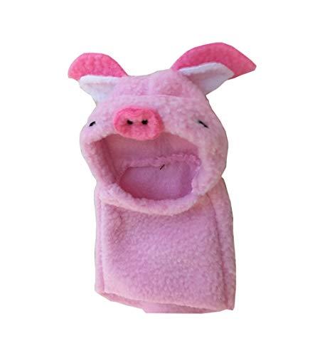 Khemn Designer Rattenmantel Schweinenkostüm mit dickem Polarfleece, ideal für Ratte, Hamster, Eichhörnchen, (Baby Meerschweinchen Kostüm)