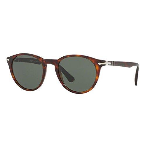 Persol 0po3152s occhiali da sole, marrone (havana/green), 49 uomo