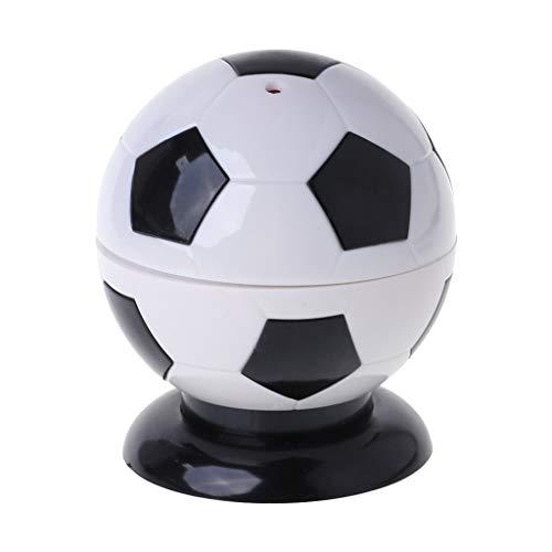 Exing Zahnstocher in Fußball-Form, kreativ, Mini Zahnstocherhalter, automatisches Spender, Zahnstocher, Deko-Board Einheitsgröße Schwarz