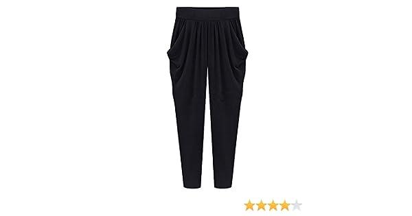 Vdual Donne In Alto Alla Vita Regolare Occasionale Matita Taglie Forti Pantaloni Cordoncino Vita Pantaloni