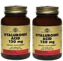 Solgar Hyaluronic Acid 120mg - 30 - Tablet- 2 Bottles from Solgar